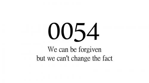 关于小说《0054》的一些事