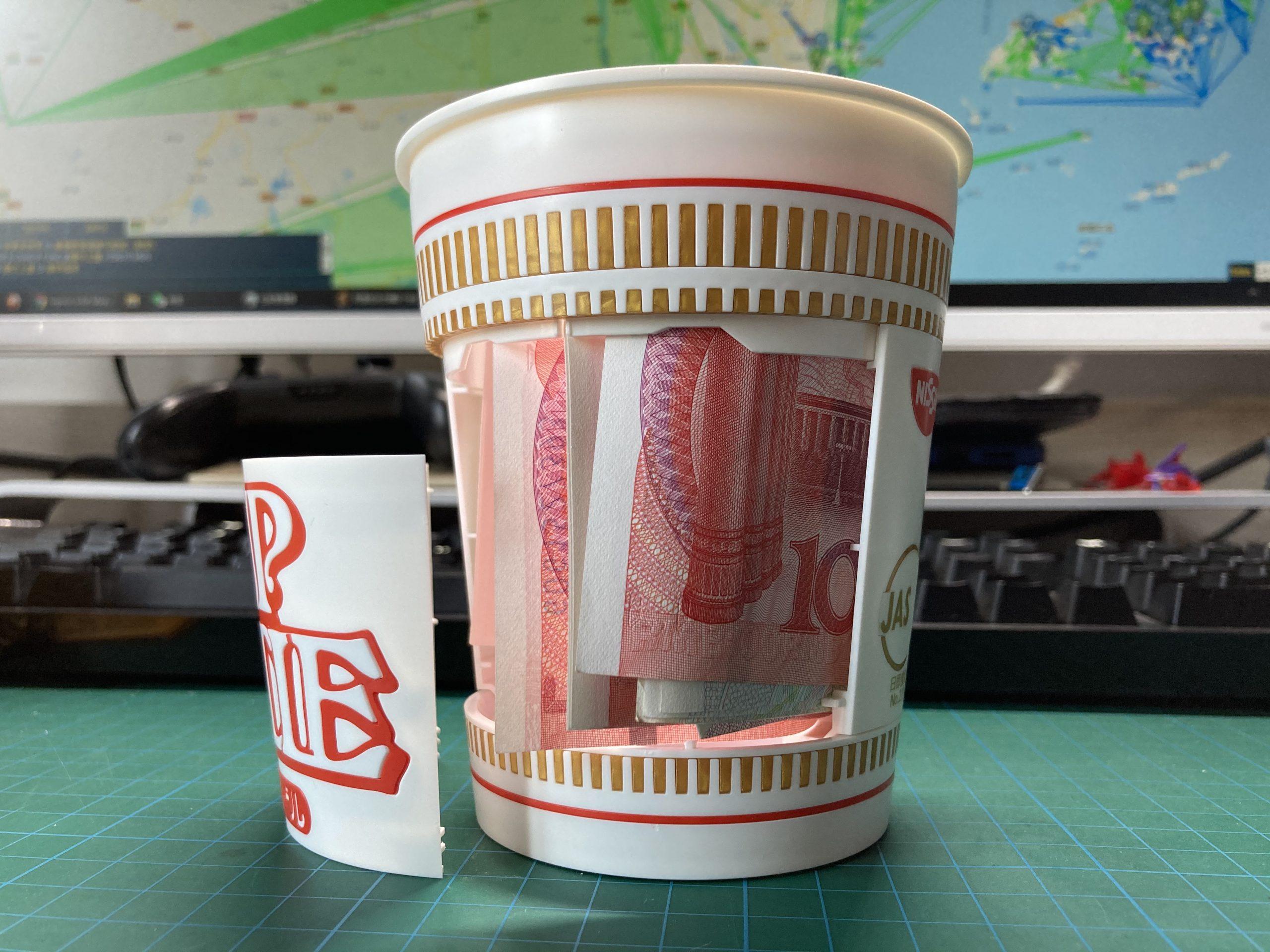 花了一百多块买了盒杯面,而且还不能吃?-茶几部落